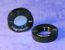 Single Plate Low-Order Waveplates
